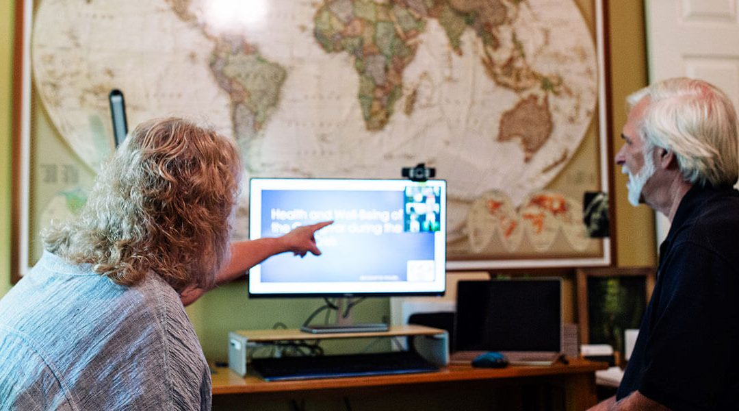 Mercy Ships Mental Health Team Conducts Health and Well-Being eLearning Sessions for Caregivers in West Africa During the COVID Crisis