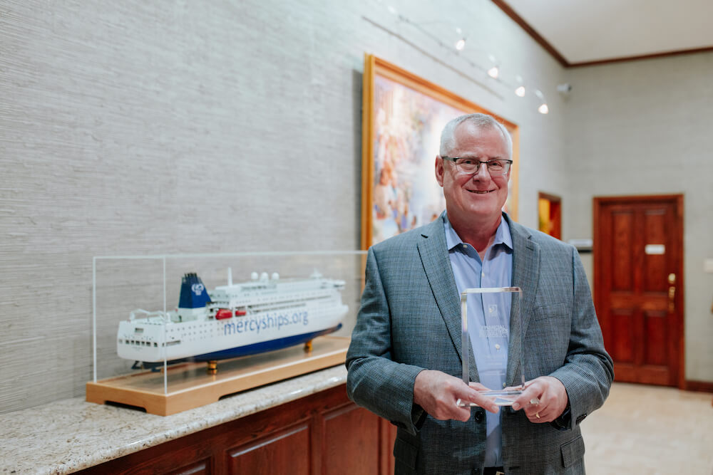Mercy Ships CFO Fred Grote Named Outstanding CFO: Nonprofit Organization by D CEO